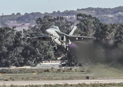 F-18 Takeoff Afterburner