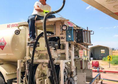BAE146 Fueling