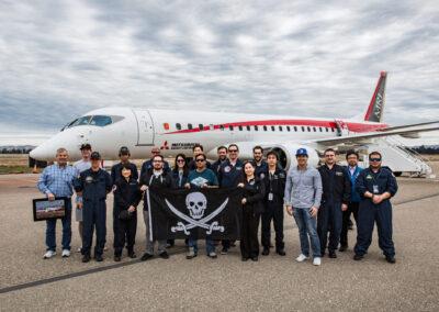 MRJ Test Flight Crew