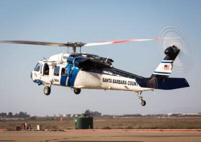 Santa Barbara County Fire UH-60